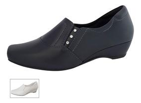 30f990ab3 Sapato Em Couro Feminino Fechado - Calçados, Roupas e Bolsas com o ...