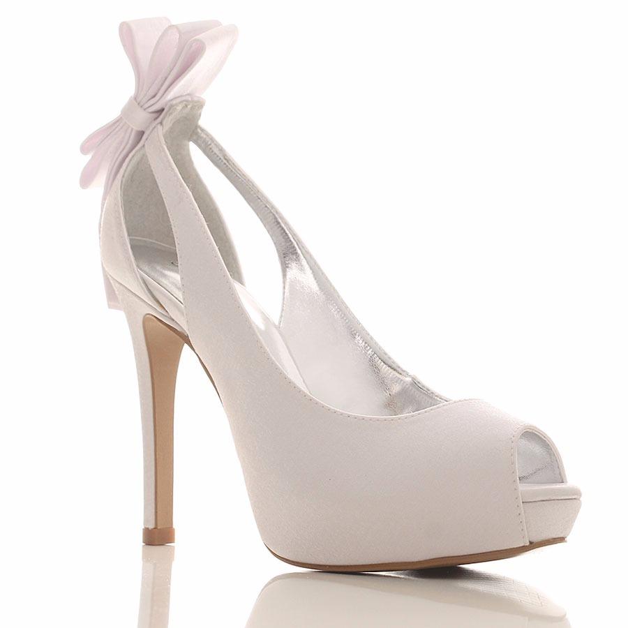 6874c12d59520 sapato branco para noiva santa scarpa modelo peep toe dakota. Carregando  zoom.