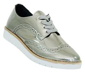 ae2e76e6f Sapato Brogue Feminino Metalizado Masculino - Calçados, Roupas e ...