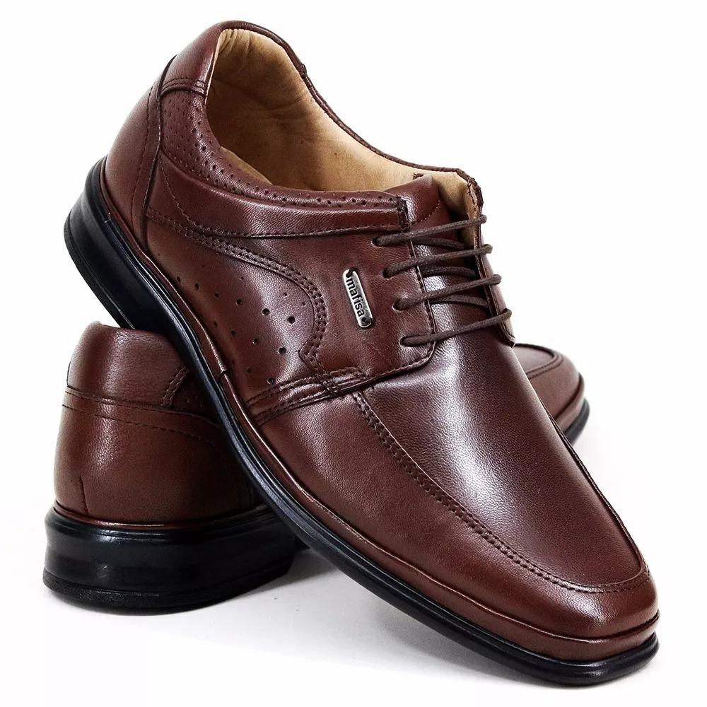 b6d5bee2d Sapato Calçado Social 100% Couro Luxo Conforto Total - R$ 175,99 em ...