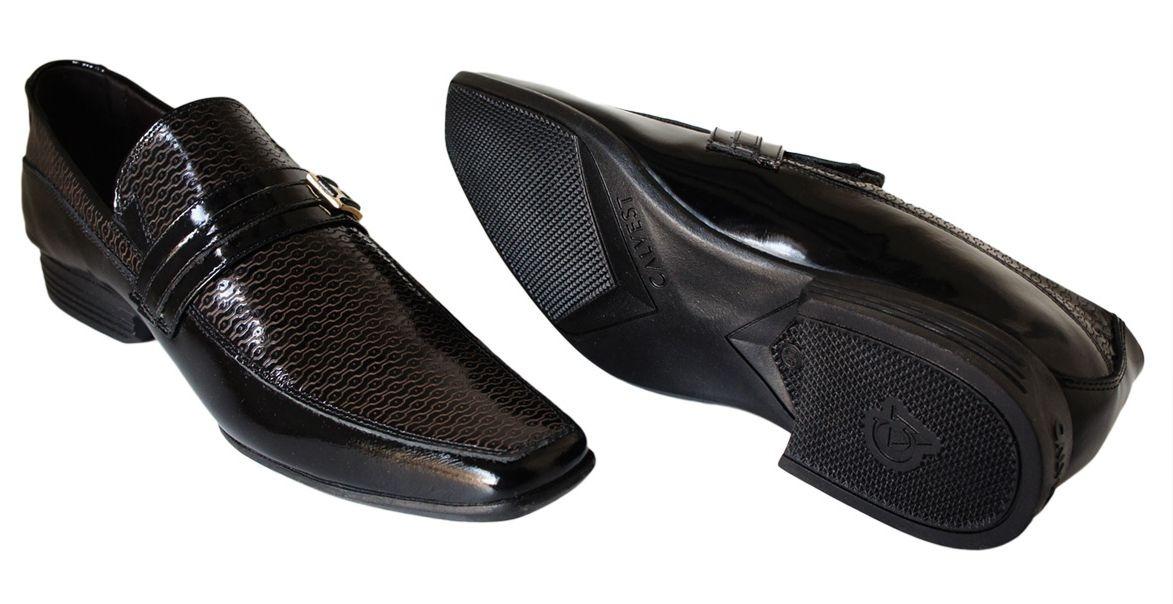 f55e8917d Sapato Calvest Fivela Detalhe Verniz - 3170c479 Preto - R$ 224,90 em ...