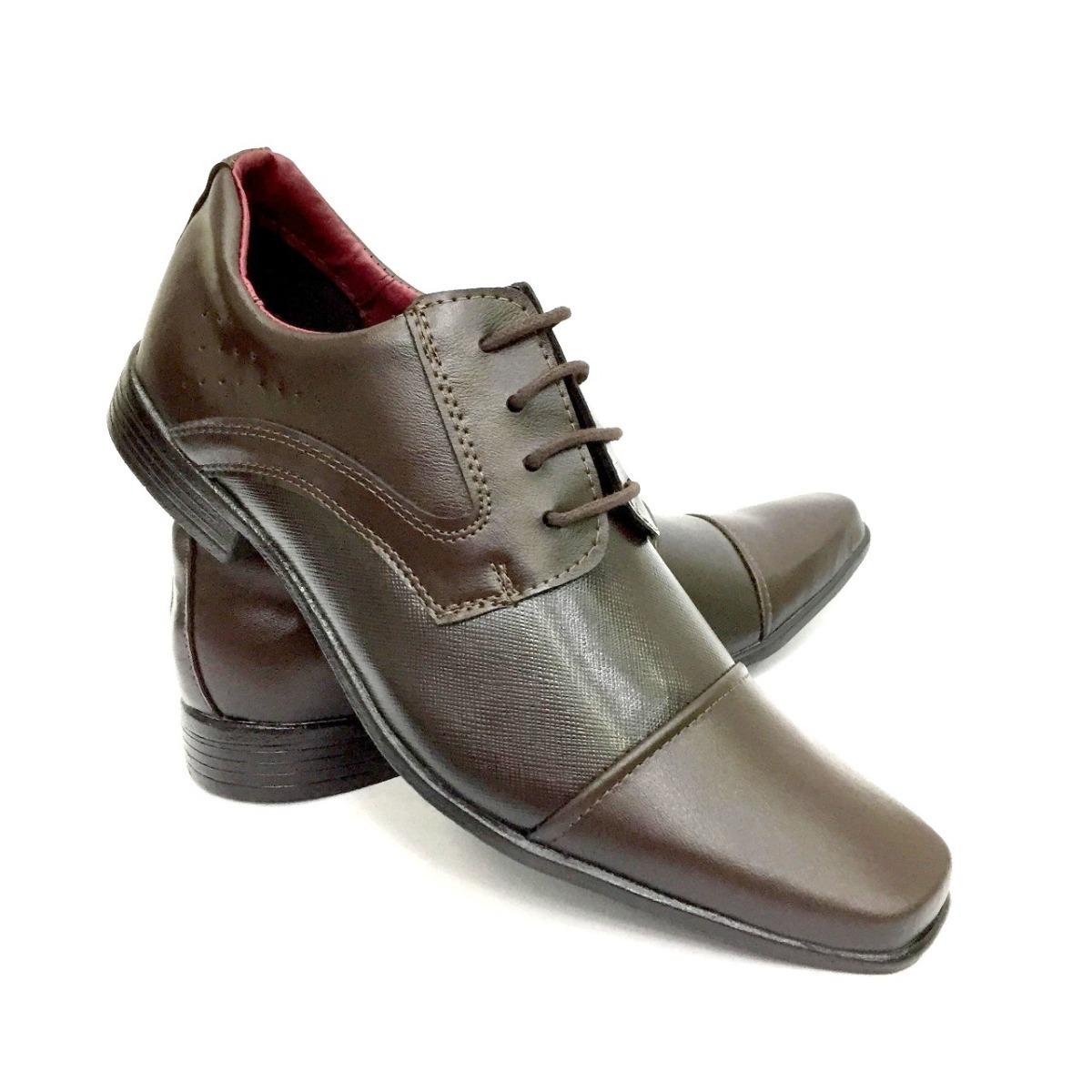 574d97262 Sapato Casamento Noivo Padrinho Formatura Casual Social Top - R$ 69 ...