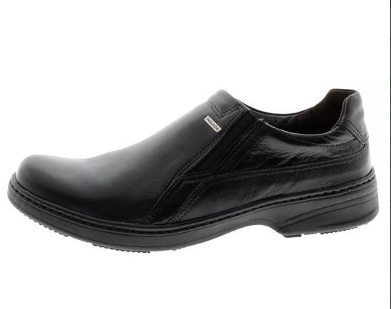 b67dd5591 Sapato Casual Conforto Masculino Pegada 21206-1 - Preto - R$ 143,91 ...