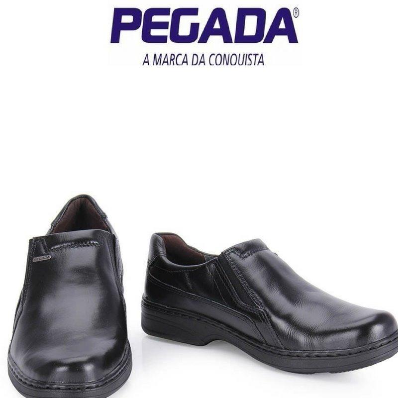 a86890cec Sapato Casual Conforto Masculino Pegada - Preto - R$ 139,90 em ...