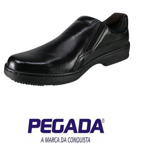 bb1492a95 Sapato Casual Conforto Masculino Pegada - Preto - R$ 155,90 em ...