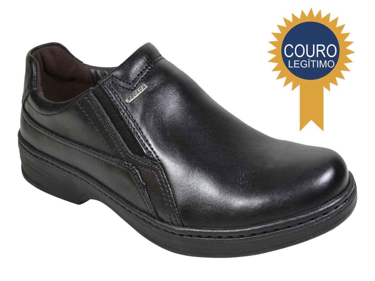 021b66c00 Sapato Casual Conforto Masculino Pegada - Preto - R$ 149,00 em ...