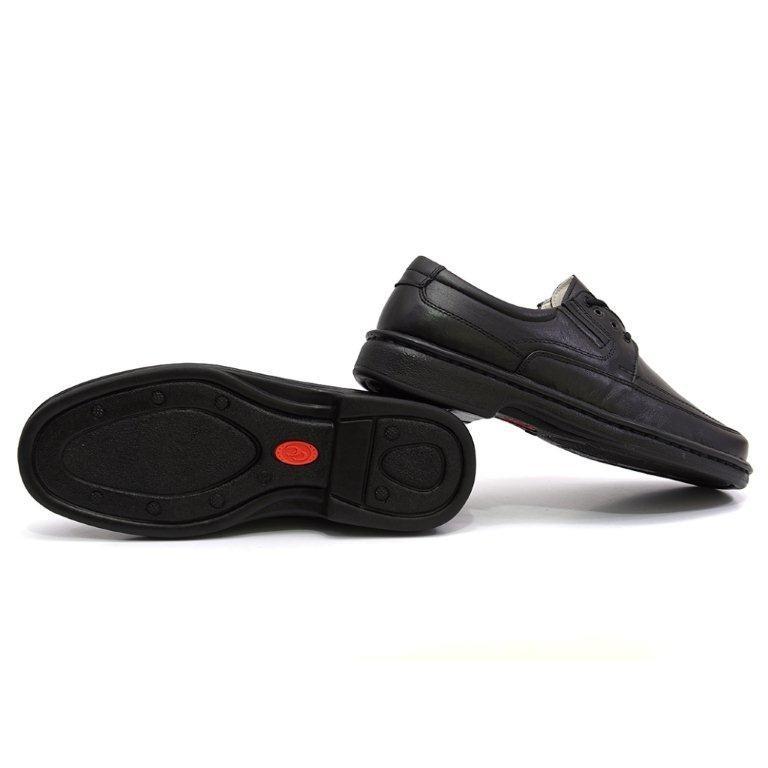 0829fd455 Sapato Casual Conforto Masculino Preto Cadarço Melhor Preço - R$ 178,90 em  Mercado Livre