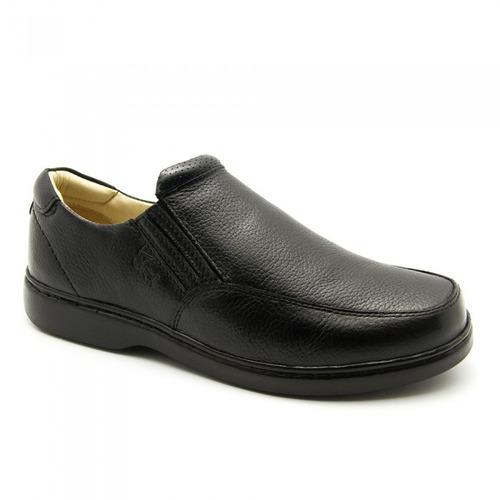 sapato casual masculino dr shoes ref 410 -couro legítimo
