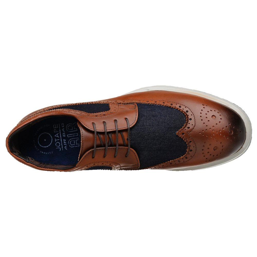 c03904a26e sapato casual oxford jota pe marrom air 50200 mj. Carregando zoom.