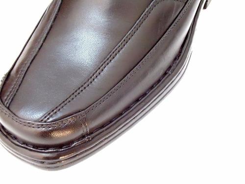 sapato casual sem-stress anatomico flexivel confort para pés