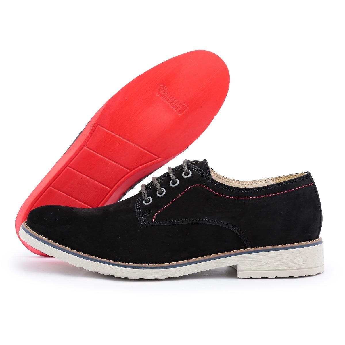 d225fcb1a sapato casual social masculino em couro bergally lancamento. Carregando  zoom.