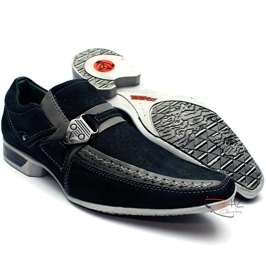 be0c9b137 sapato casual social masculino super luxo couro legitimo. Carregando zoom.