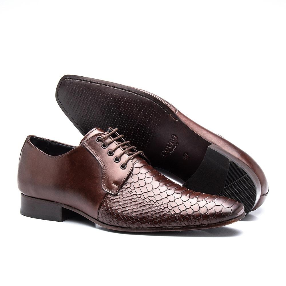 101f42f79b sapato clássico masculino sola de couro de amarrar mouro 306. Carregando  zoom.