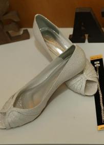 533930637f Sapato Noiva Branco Salto 6 - Sapatos no Mercado Livre Brasil