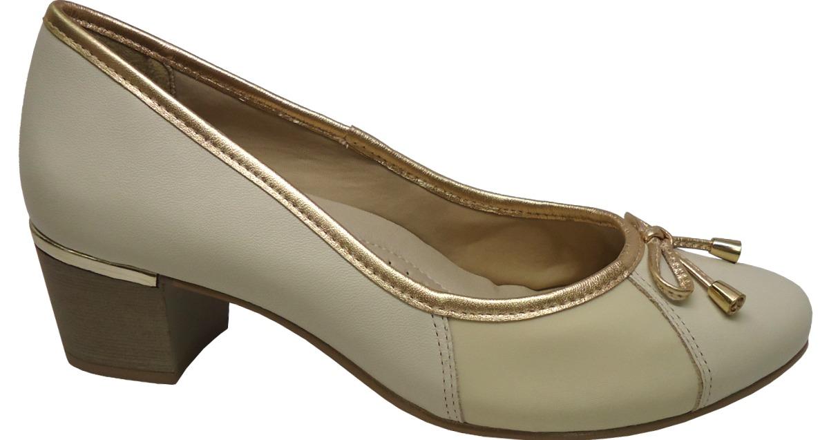 dd90114e0 Sapato Comfortflex Scarpin 1595402 Linha Joanete - R$ 105,90 em ...