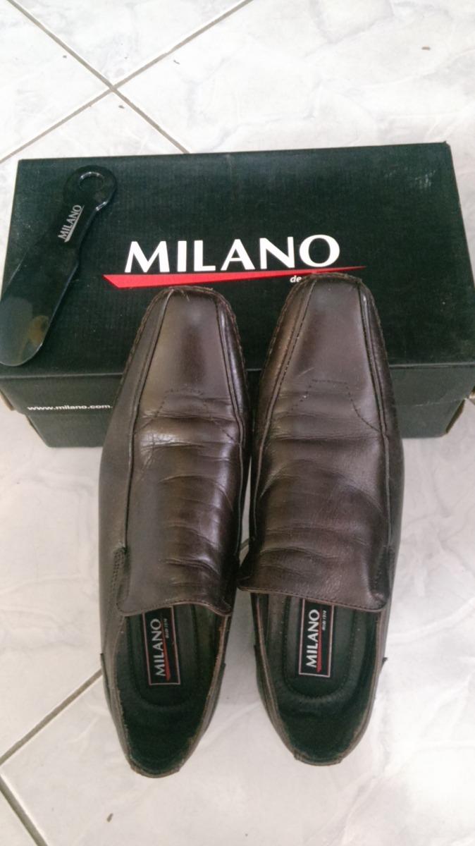 ca5c34d2a4 sapato confort masculino milano café. Carregando zoom.