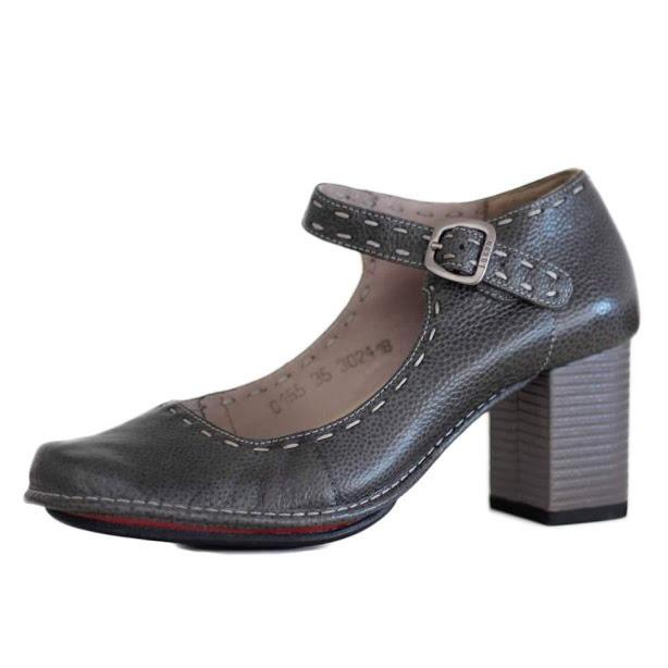 96d4bd80b Sapato Confortável J.gean Salto Grosso 0155 Melhor Preço! - R$ 291 ...