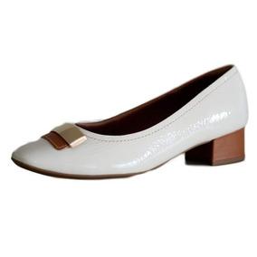 6cf203123 Sapato Branco Salto Quadrado - Sapatos com o Melhores Preços no ...