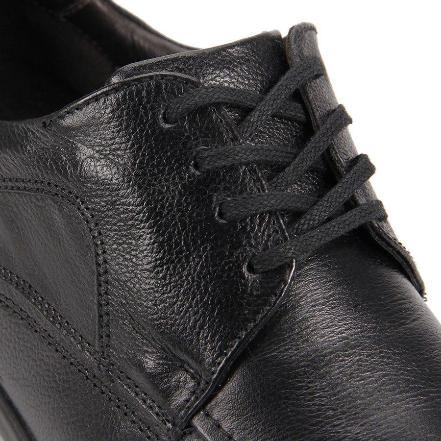 384024ca1 sapato conforto masculino democrata air stretch spot - preto. Carregando  zoom.