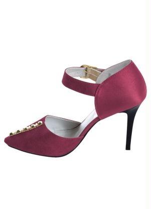 975c9d5958 Sapato Cor De Vinho Feminino - R  125