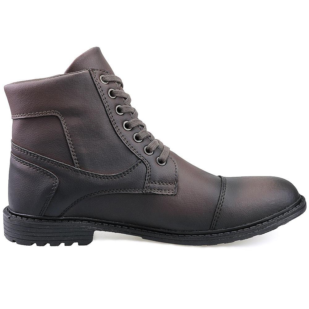 bec39f5f763 Carregando zoom... bota masculina sapato coturno casual super leve c ziper