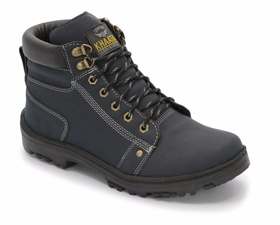 70ab9b97158a5 sapato coturno bota masculino adventure social azul marinho. Carregando  zoom.