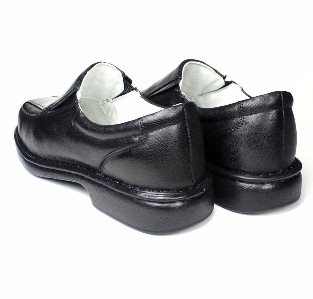 a4b0556a38 sapato couro confortável antistress couro de carneiro. Carregando zoom.