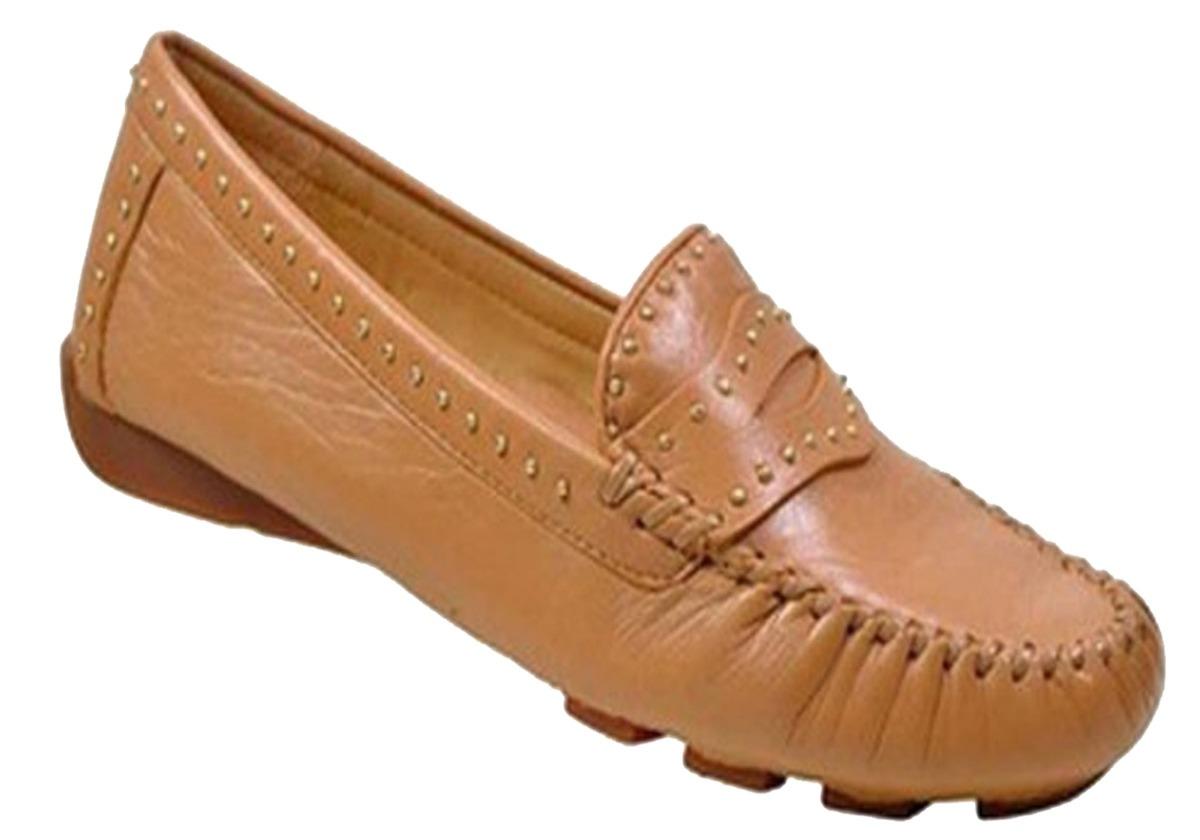 9ef83846734c3 sapato couro feminino mocassim super confortável anatômico. Carregando zoom.