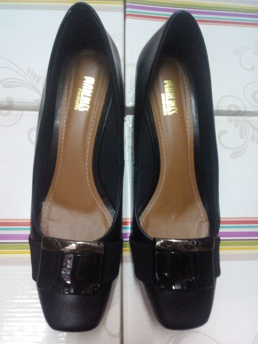 8ed591542f sapato couro feminino numeros especiais 6771-1190p. Carregando zoom.