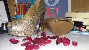 9d46e560c0 Sapato Noiva Sapatos Femininos - Sapatos Dourado no Mercado Livre Brasil