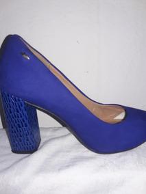 8fbe1b153 Sapato Dakota Scarpin Azul - Calçados, Roupas e Bolsas com o Melhores  Preços no Mercado Livre Brasil