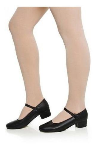 sapato dança de salão capezio korino salto 4cm- frete gratis
