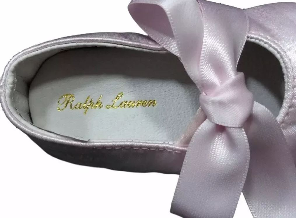 ed7fe78c0f Sapato De Bebê Ralph Lauren Rosa Original - R$ 40,00 em Mercado Livre