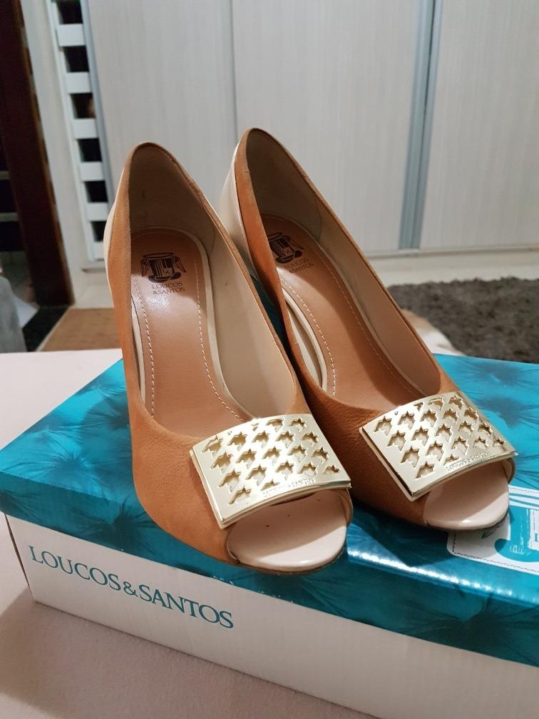 811a19da8 Sapato De Couro Loucos E Santos N 37 - R$ 100,00 em Mercado Livre