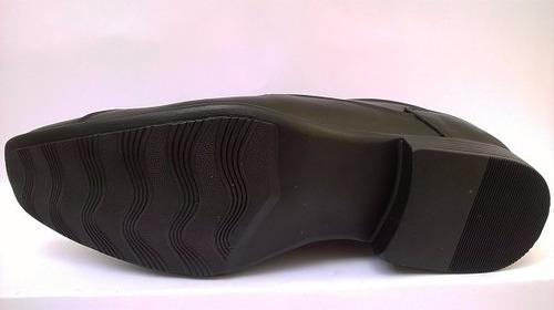 sapato de couro masculino