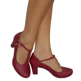 a76adbb631 Sapato Feminino Para Dança De Salão no Mercado Livre Brasil