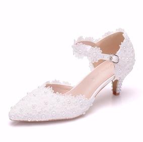 c002fd016 Sapato De Casamento Noiva Com Perolas, Lindíssimo!! - Calçados ...