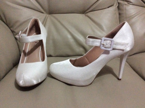 76d8b49e6e Sapato Para Noiva Estilo Boneca - Sapatos, Usado com o Melhores ...