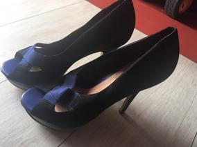 7955f5d027 Sapato De Salto Azul Royal Schutz - Sapatos no Mercado Livre Brasil