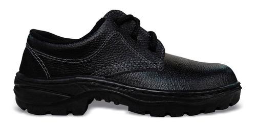 sapato de segurança com cadarço sem bico monodensidade n35
