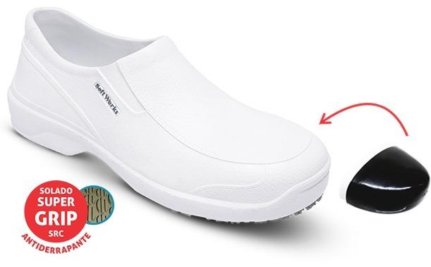 Sapato De Segurança Em Eva Biqueira Composite Ca 41.554 - R  84,90 ... adab8473dc