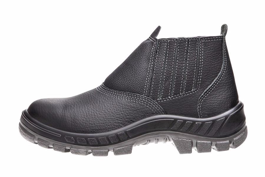 17732d4b3 sapato de segurança feminino tamanho grande couro garantia. Carregando zoom.