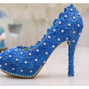 e23c06a76c Sapato Decorado Scarpin Noiva Festa Formatura Pérola Guipir - R  280 ...