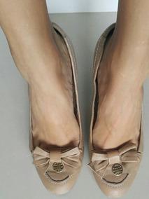 fa55d22a9 Sapato Feminino Dourado Salto Dumond - Sapatos no Mercado Livre Brasil