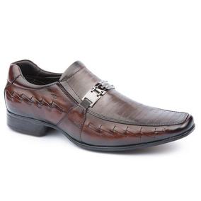 ef64492fa Direto Da Fabrica Sapato Social Masculino Couro Legitimo - Sapatos com o  Melhores Preços no Mercado Livre Brasil
