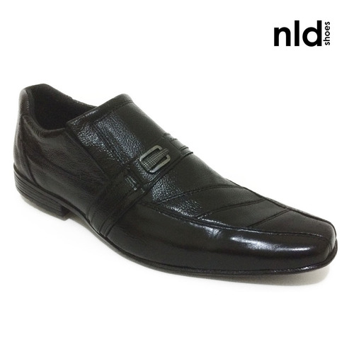 sapato envernizado social preto - nld - ref ro201