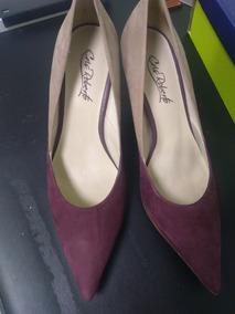e0632144f2 Scarpin Cinza Escuro - Sapatos Violeta escuro no Mercado Livre Brasil