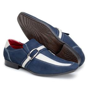 a72c4aa88 Sapato Social Paulo Vieira - Sapatos Sociais para Masculino Azul no ...