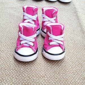 3fec2b8ee2 Sapato Estilo All Star - Nº 5 - Rosa - R  35