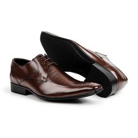 1b97e5acf Sapato Social Bigioni Marrom - Sapatos no Mercado Livre Brasil